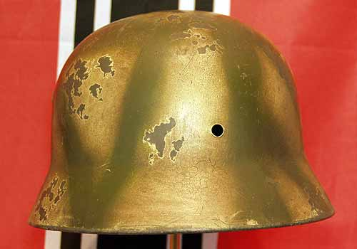 German Waffen SS Normandy Panzer Helmet