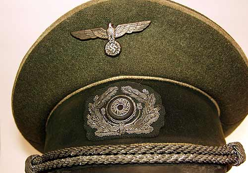 German Army Officer Peaked Cap